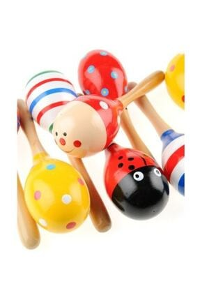 Learning Toys 2'li Ahşap Marakas Seti 0