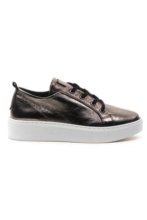 GRADA Kadın Deri Nikel Bağcıklı Deri Sneaker 1