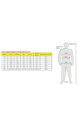 Helly Hansen Erkek Sarı T-Shirt 4