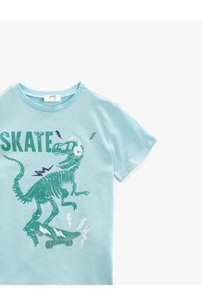 Koton Erkek Çocuk Yeşil T-Shirt 2