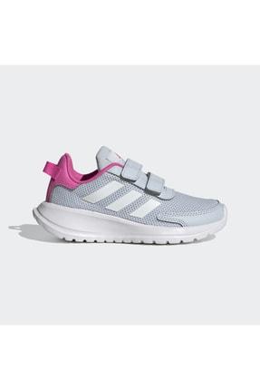 adidas TENSAUR RUN C Gri Kız Çocuk Spor Ayakkabı 101085036 1