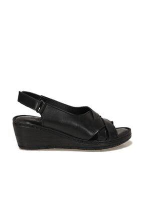 Polaris 161821.Z1FX Siyah Kadın Sandalet 101019761 1