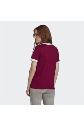 adidas Kadın Bordo Spor T-shirt 1
