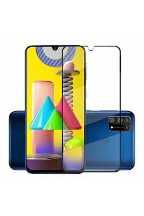 Soffany Samsung Galaxy M51 Kavisli Full Kaplayan Polikarbon 360 Cover Kırılmaz Cam 0