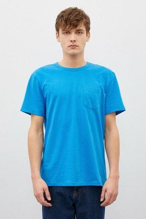 Koton Erkek Mavi T-Shirt 1Yam12317Lk 2