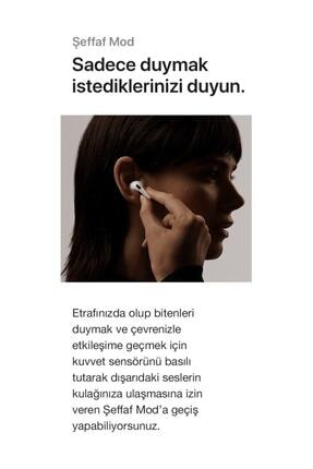 T G Beyaz  Pro Uyumlu Bluetooth 5.0 Kulaklık 4