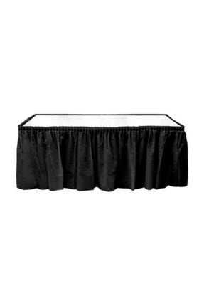 Kikajoy Siyah Plastik Masa Eteği 75x426 cm 0