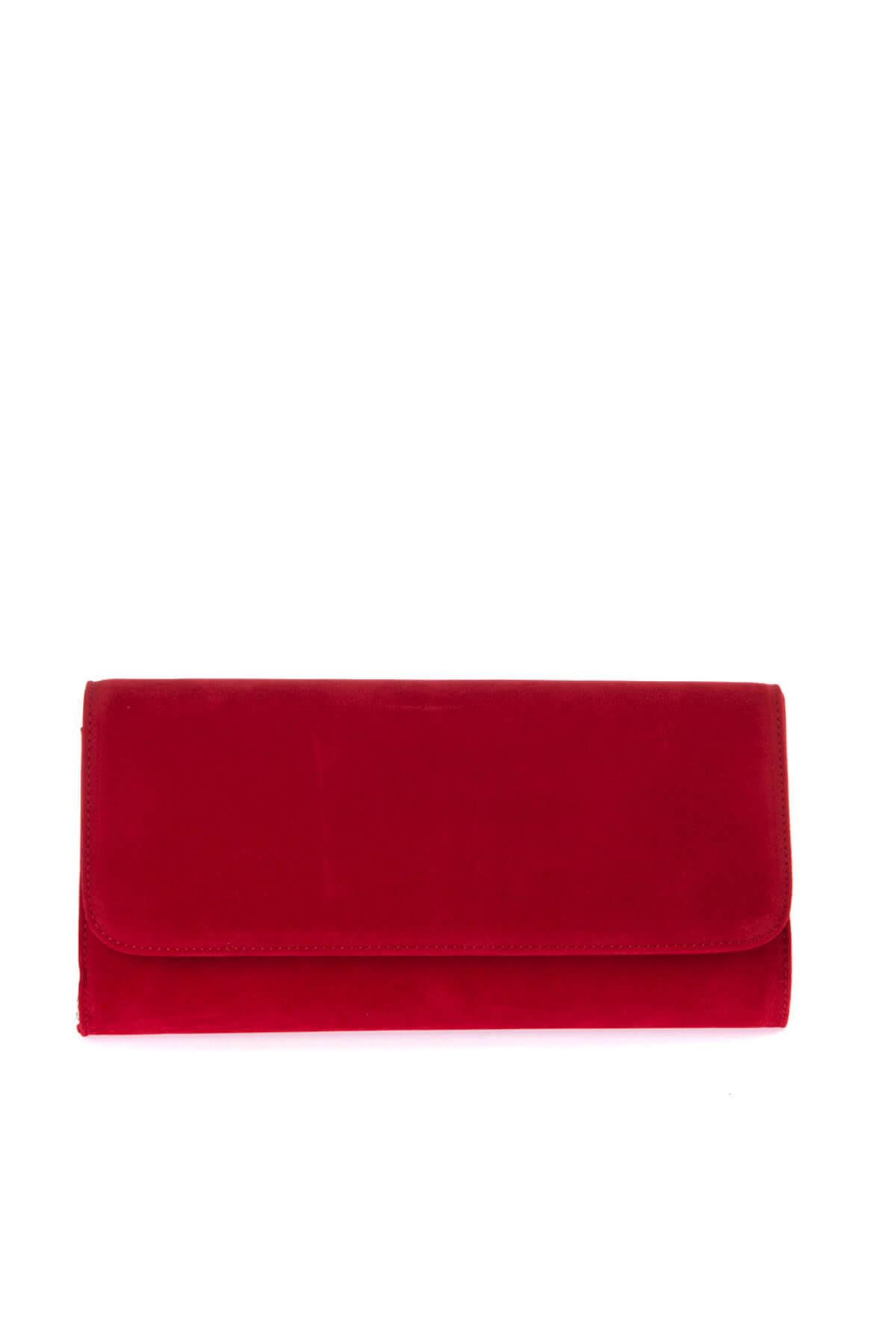 Kırmızı Kadın Portföy Çanta C0112-18