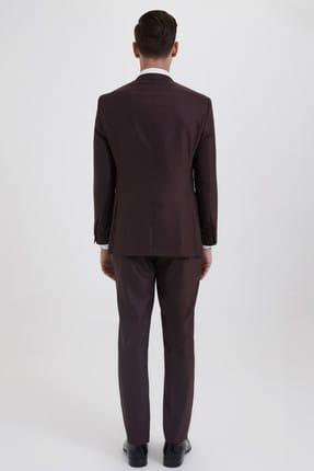 Hatemoğlu HTML Desenli Slim Fit Takım Elbise 33202018C357 3