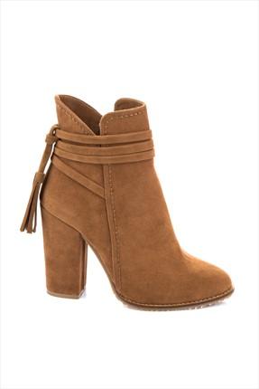Fox Shoes Taba Kadın Bot A922803902 0