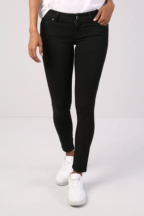 Colin's Siyah Kadın Pantolon CL1041709 3