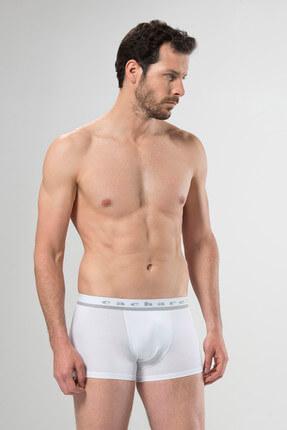 تصویر از Erkek Beyaz Boxer %95 Pamuk %5 Elestan 1317