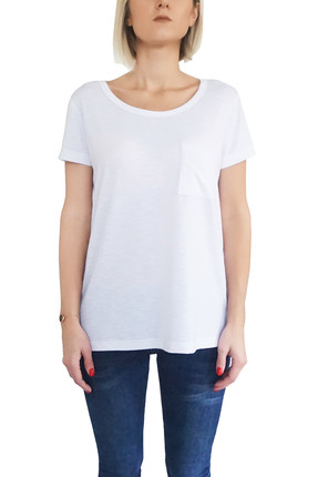 Mof Basics Kadın Beyaz T-Shirt GSYT-B 0
