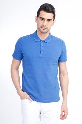 Kiğılı Erkek Mavi Polo Yaka T-Shirt - Cdee1-4 2