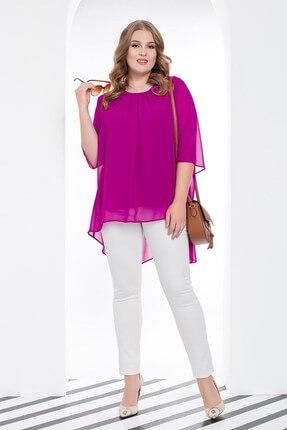 Büyük Moda Kadın Ekru Dar Paça Likralı Pantolon 2149 0