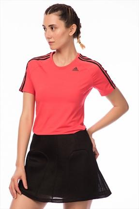 adidas D2M TEE 3S Kadın Tişört 0