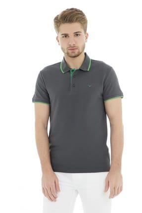 Cazador Erkek Antrasit T-Shirt - Cdr4614-19YCEEOM4614 0