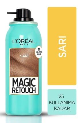 L'Oreal Paris Magic Retouch Beyaz Kapatıcı Sprey Sarı 75 ml 0
