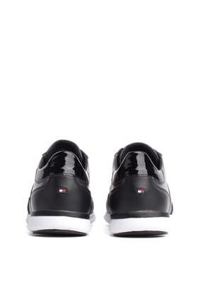 Tommy Hilfiger Kadın Siyah Sneaker FW0FW03688 3