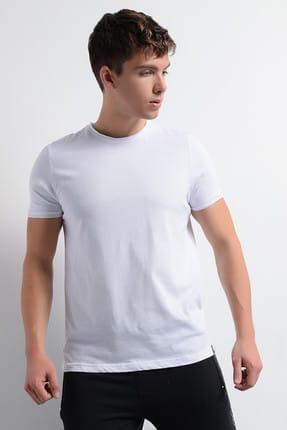 Rodi Jeans Erkek T-Shirt Pis Dikiş Bisiklet Yaka Basic 1