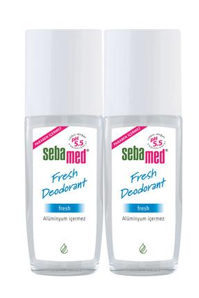 Sebamed Fresh Deodorant 75 ml x 2 41030409057102 0