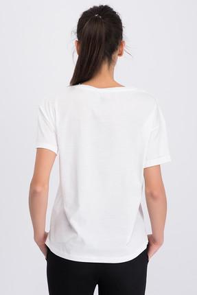 New Balance Kadın T-shirt - V-WTT801-WT 2