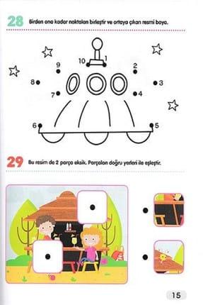 Çocuk Gezegeni 365 Zeka Geliştirici Aktivite Seti 8 Kitap 2