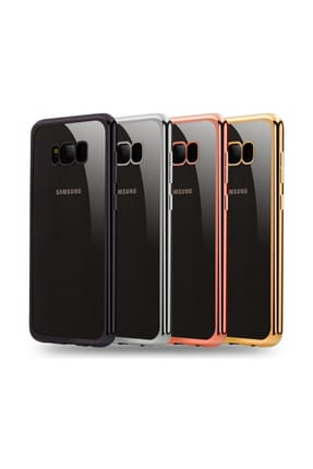 Microsonic Samsung Galaxy S8 Plus Kılıf Flexi Delux Siyah 3
