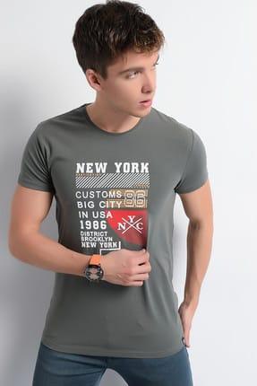 Rodi Jeans Erkek T-Shirt Newyork Baskı 1