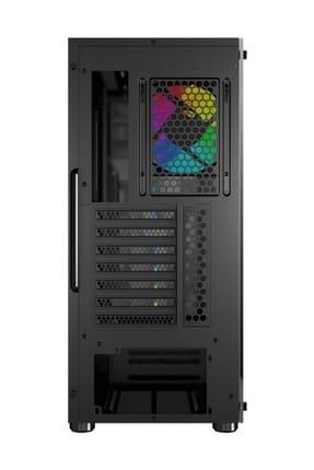 MAG VAMPIRIC 010 Temperli Cam 1x A-RGB Fan ATX Gaming Bilgisayar Kasası MSI