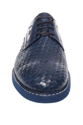 Fosco Hakiki Deri Mavi Erkek Ayakkabı 248 9036M 2
