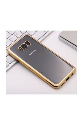 Microsonic Samsung Galaxy S8 Plus Kılıf Flexi Delux Gold 1