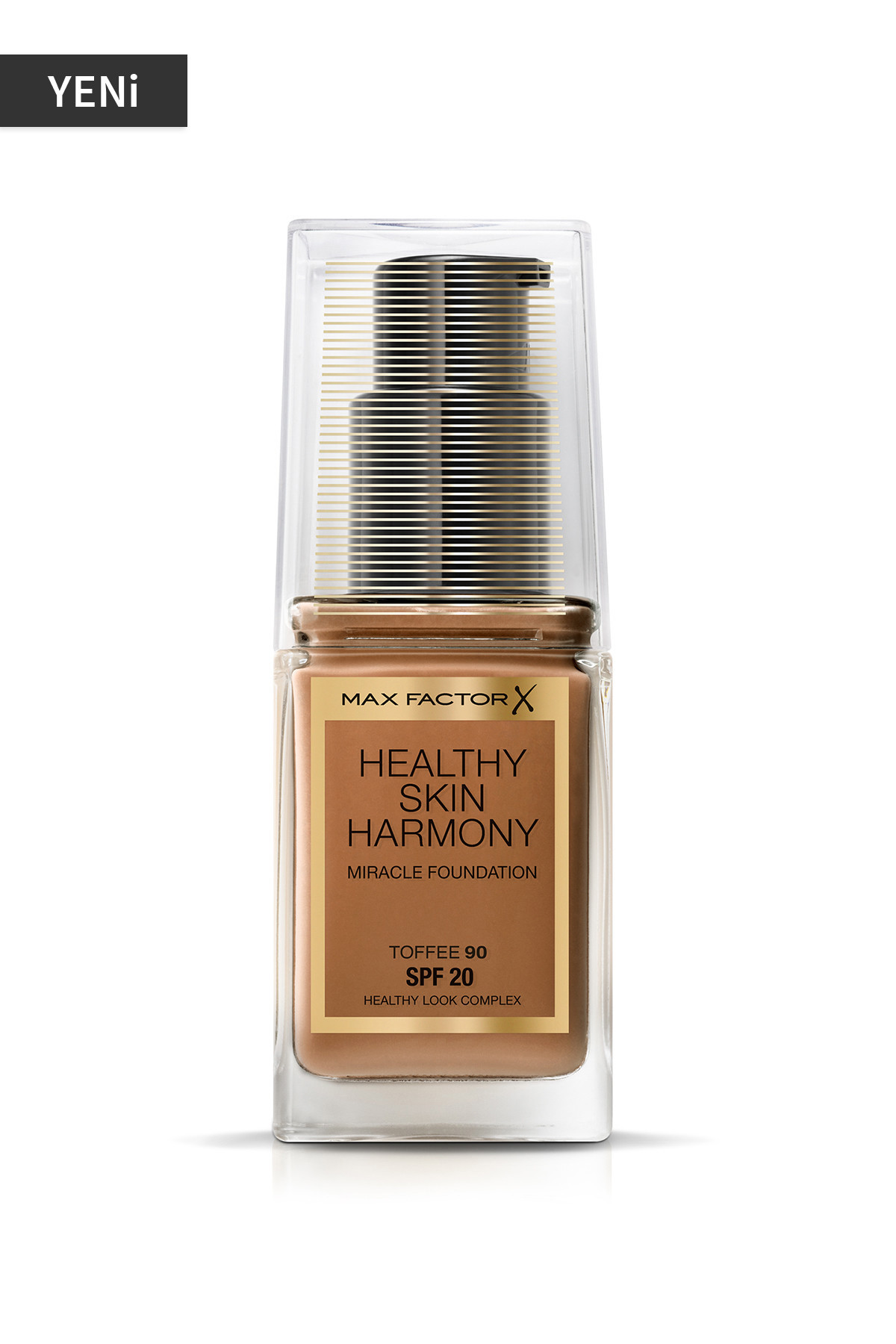 Fondöten - Healthy Skin Harmony Miracle Foundation 90Toffee 8005610433646