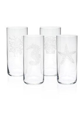 ZM Decor Meşrubat Bardağı 4'lü Set 4
