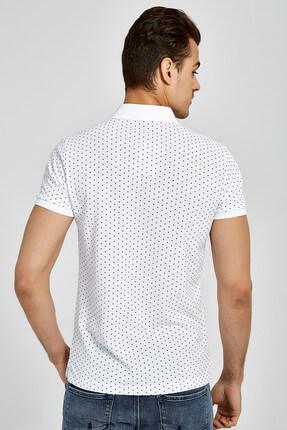 Ltb Erkek  Beyaz Polo Yaka T-Shirt 012188434161430000 2