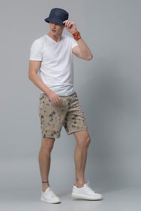 Lufian Erkek Geras Basic T- Shirt Beyaz 111020008100500 2