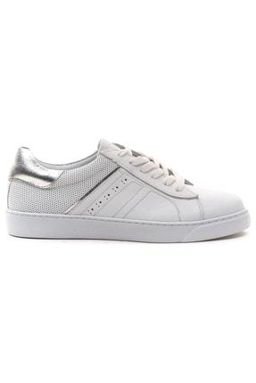 GRADA Hakiki Deri  Ince Taban Günlük Sneaker Ayakkabı 1
