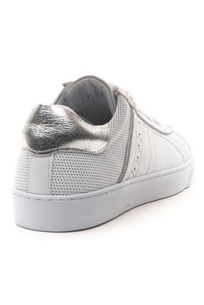 GRADA Hakiki Deri  Ince Taban Günlük Sneaker Ayakkabı 4