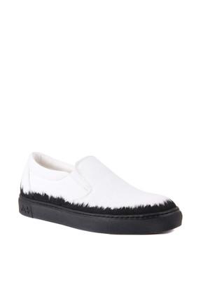 Sail Lakers Beyaz Erkek Casual Ayakkabı 101-2630-11473 R1 WHITE CANVAS-BLACK 1
