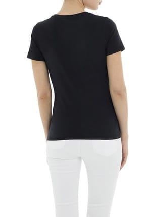 Emporio Armani Lacivert Kadın T-Shirt 3G2T86 2JQAZ 0920 1