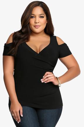 Kadın Siyah Bluz ss01571fb resmi