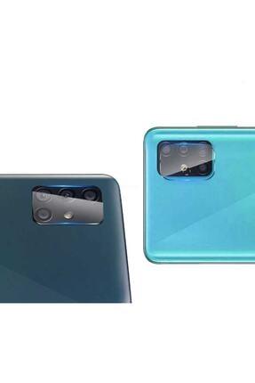 Dijimedia Samsung Galaxy A71 Uyumlu Nano Kamera Camı Kamra Koruyucu Lens 2