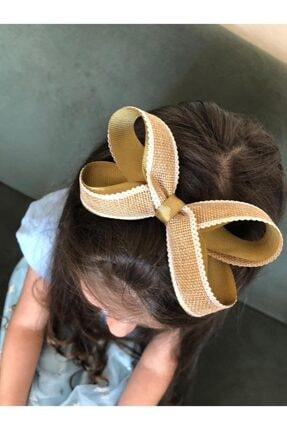 Kadın Altın Hasır Saç Bandı 202054326
