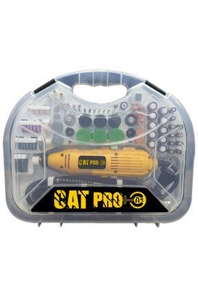 Catfiller Cat Pro + Tam Profesyonel 300 Watt Spiral Uzatmalı 300 Parça Gravür Oyma Seti 0