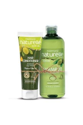 Farmasi Naturelle Zeytinyağlı Şampuan ve Saç Kremi 0