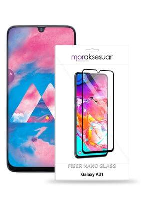 Samsung Galaxy A31 Ekran Koruyucu Kırılmaz Fiber Nano Kaplayan 0