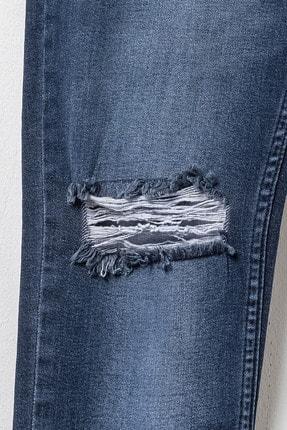 LC Waikiki Erkek Koyu Rodeo Skınny Fit Jeans 0S6739Z8 0