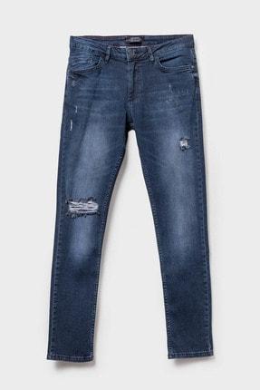 LC Waikiki Erkek Koyu Rodeo Skınny Fit Jeans 0S6739Z8 1