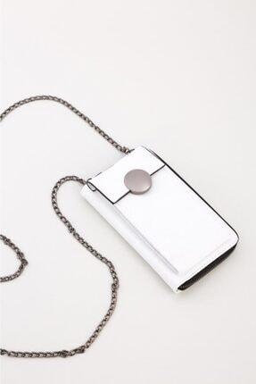 Espardile Kadın Zincir Askılı Mini Çanta 0449 2