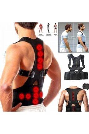 Ankaflex Manyetik Dik Durmak Için Korse Ortopedik Kamburluk Önleyici Bayan Erkek Dik Duruş Bel Sırt Korsesi 0